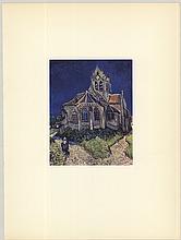 Vincent van Gogh - Eglise D'Auvers - 1953
