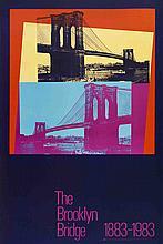 Andy Warhol - Brooklyn Bridge Centennial - 1983