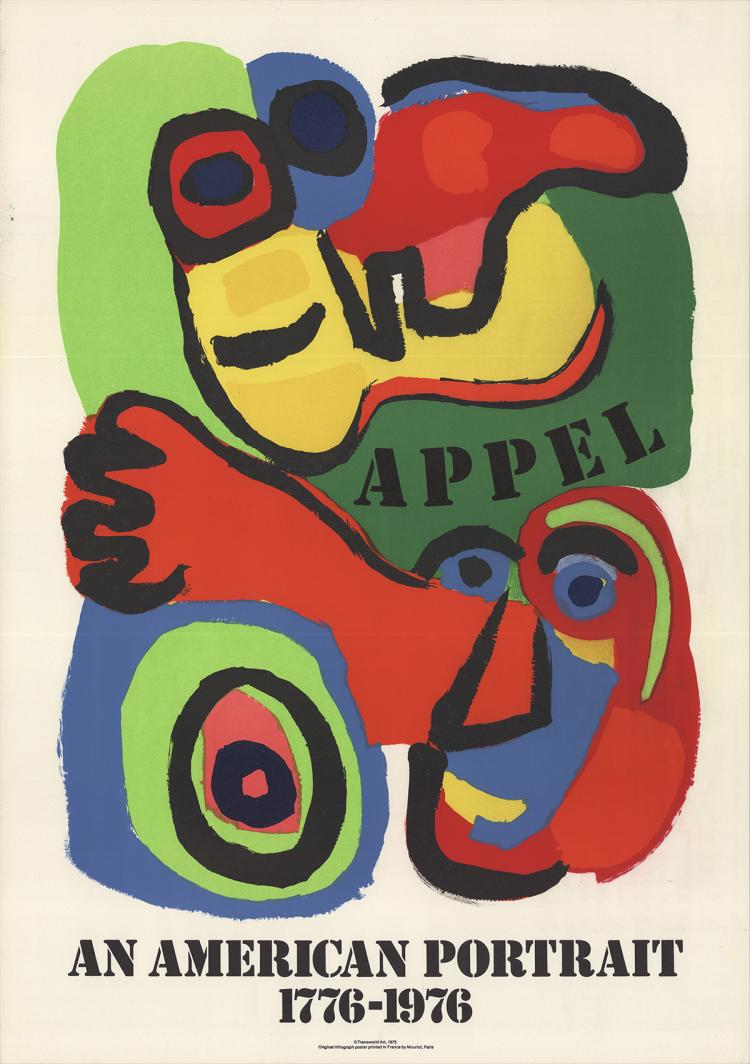 Karel Appel - An American Portrait - 1975