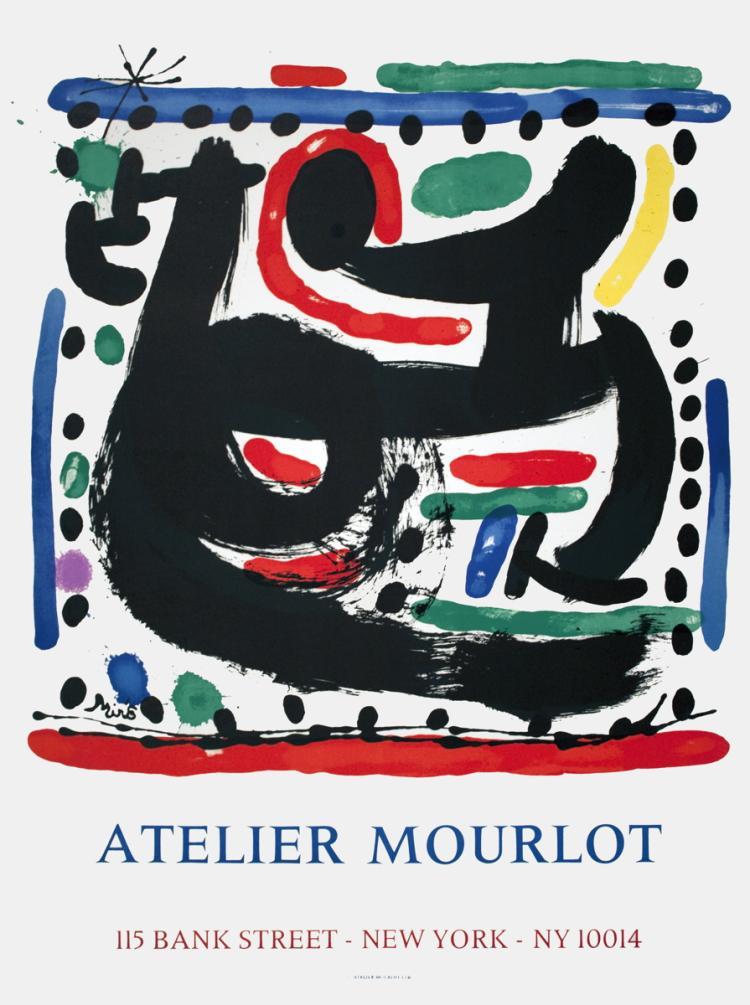 Joan Miro - Atelier Mourlot - 1967
