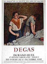 1960 Degas Durand-Ruel Lithograph