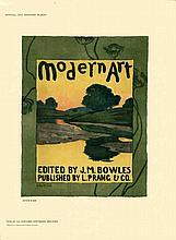 1897 Dow Modern Art Lithograph