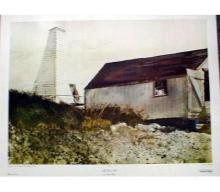 1970 Wyeth Life Boat Shed Collotype