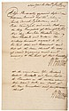 Governor WILLIAM BURNET Signed Twice Exceptionally Handsome Document From 1724