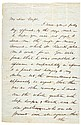 Commander ROBERT ANDERSON, Signed Letter 4 Pages, 1856