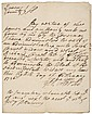 GEORGE CLARKE Rare Autograph Document Signed 1726