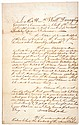 General JOHN ARMSTRONG  Signed 1759 French & Indian War Petition