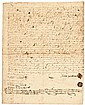 JONATHAN CORWIN, SALEM WITCH TRIALS Judge, 1705 Salem + STEPHEN SEWELL Signed