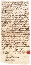 1770 Counterfeiting Continental and Provincial Currency Related Document