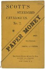 1897 Scotts Standard Catalog of Paper Money Price Guide, Colonial Currency