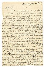 Historic 1762 American Major-General CHARLES LEEAutograph Letter Signed At War