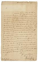 American Major General HORATIO GATES 1777 Rev. War Letter to GEORGE WASHINGTON