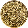 (1861) Hartford, Granby-Higley Store Card Token by Alfred S. Robinson NGC MS-63