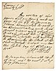 1726 New York Governor GEORGE CLARKE Rare Autograph Document Signed
