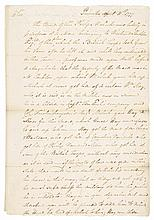ISRAEL PUTNAM April 1777 Revolutionary War Letter to General Benjamin Lincoln