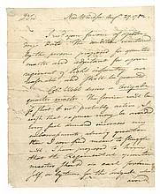 1782 TIMOTHY PICKERING, Revolutionary War Autograph Letter Signed