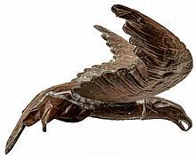 Vintage Copper Decorative American Eagle Weathervane 23 Inch Wingspan