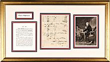 FRANCIS HOPKINSON, 1780 Manuscript Document Signed, Signer of the Declaration