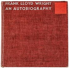 FRANK LLOYD WRIGHT, Signed 1943 First Ed. Autobiography