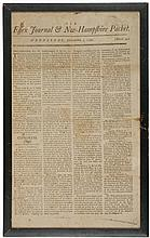 Lafayette's 1792 Address To The French Army Newspaper Imprint