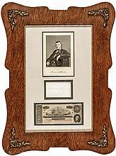 ALEXANDER HAMILTON STEPHENS Confederate States of America Vice-President Display