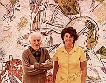 MARC CHAGALL, Signed Color Photograph