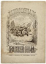 1875 Centennial of the Battle of Bunker Hill Illustrated Memorial Booklet