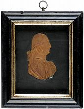 c. 1820, George Washington Wax Portrait in Uniform