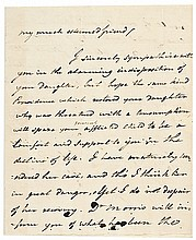 Rare 1792 DOCTOR BENJAMIN RUSH Autograph Letter Signed Founding Father + Signer!