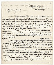 Exceedingly Rare Important 1802 THOMAS PAINE Autograph Financial Letter Signed