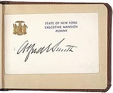 1920s N.Y. Political + Celebrity Autograph Album