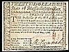 Colonial Currency, Scarce May 5, 1780 Massachusetts $20 Contemporary Counterfeit