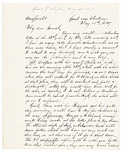 1847-Dated ZACHARY TAYLOR Mexican-American War Camp Autograph Letter Signed
