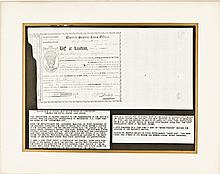 1793, William Imlay Signed United States Loan Office Form, Conn., Anderson CT-56