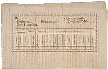 c. 1794 New Hampshire Militia Document on the Principles of Free Government