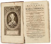 1782 Books: Impartial History of the War in America; Two Volumes by James Murray