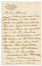 WILLIAM HOWARD TAFT Archive of 9 Autograph Letters Signed - NINE !