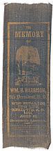 1841 WILLIAM HENRY HARRISON Memorial Ribbon