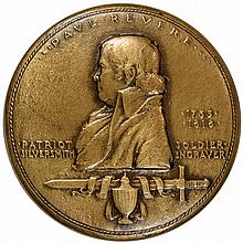 1925 American Numismatic Society Sesquicentennial of Paul Revere's Ride Medal