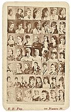 c. 1870s, Carte de Visite Photograph With John Wilkes Booth Girlfriends