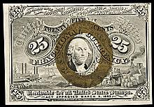 Fractional Currency, FR-1283 2nd Issue 25¢ Washington