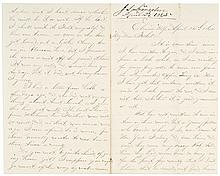 April 24, 1865, Autograph Letter Signed, Lincoln Assassination and Funeral