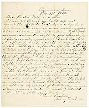 1863 Civil War, Union Autograph Letter Signed, Capture of Missionary Ridge