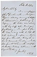 1864 Presidential Candidate Abraham Lincoln Nomination Letter With Content