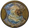 Encased Postage Stamp, EP-4a, 1¢, AYERS SARSAPARILLA. Medium AYER'S