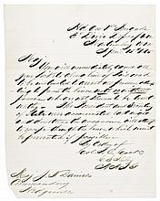 April 15th, 1865 Extraordinary Abraham Lincoln Assassination Letter