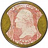 Encased Postage. EP-56, Three Cents. JOHN SHILLITO & CO., Cincinnati, OH.
