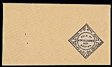 U.S. Postage Stamp Envelope, A. WILLIAMS & CO. Boston. Full Envelope and Flap