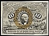 Fractional Currency, FR-1244 2nd Issue 10¢ Washington