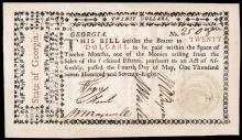Gem CU May 4, 1778 Twenty Dollars Rattlesnake Note Signed William Few